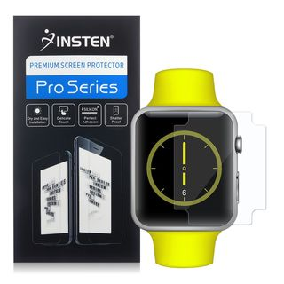 Insten Clear TPU LCD Screen Protector Film Cover For Apple Watch 38mm