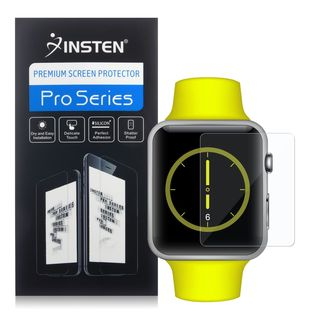 Insten Clear LCD Screen Protector Film Cover For Apple Watch 42mm