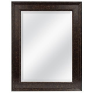 Laurel Creek Alexandra Bronze Finished Beveled Mirror