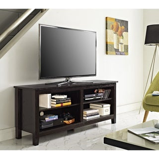 "58"" Essential Wood TV Stand- Espresso"