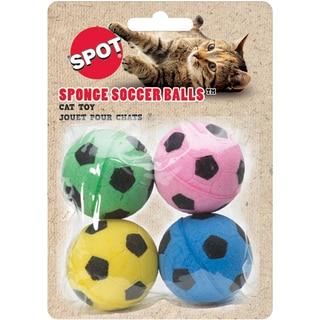 Spot Ethical Sponge Soccer Balls for Cats (Pack of 4)
