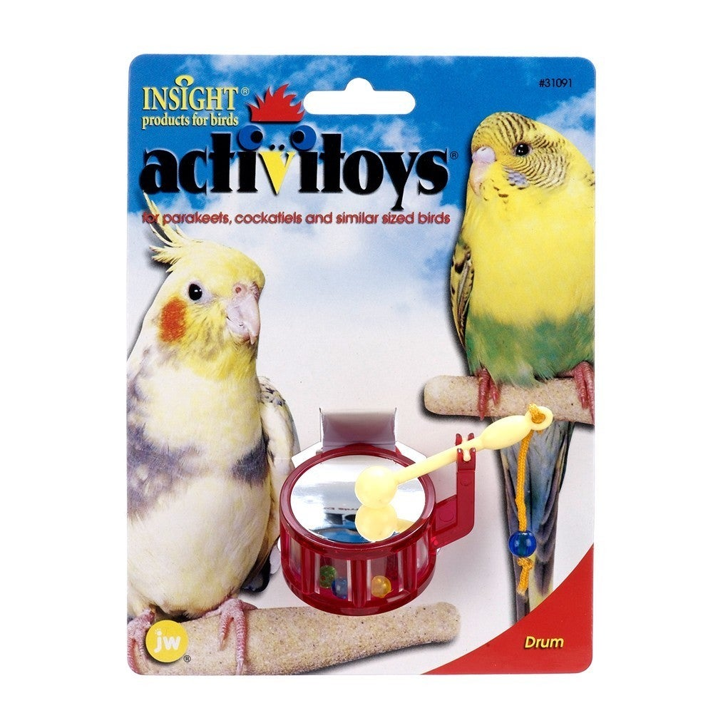 JW Pet Activitoy Drum (Multi-Colored), Multi