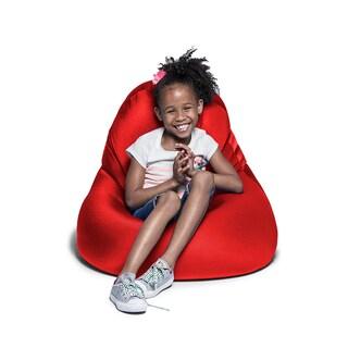 Jaxx Nimbus Spandex Bean Bag Chair for Kids (Option: Red)