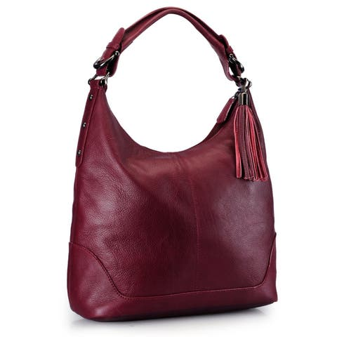 2c2201c72981 Buy Leather Hobo Bags Online at Overstock | Our Best Shop By Style Deals