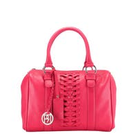 Handmade Phive Rivers Red Leather Braid Handbag (Italy) - One size