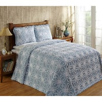 Rosa Cotton Chenille Bedspread by Better Trends