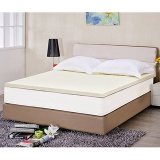 Superior 2-inch Ventilated High Density Memory Foam Mattress Topper