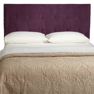 Humble + Haute Stratton King Plum Upholstered Headboard