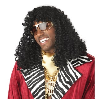 Adult Black Curly Hair Wig