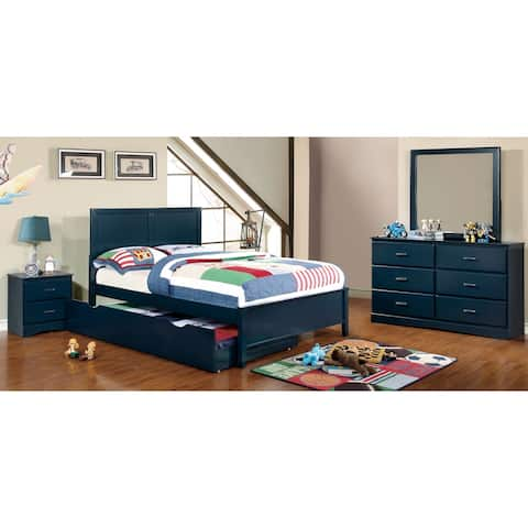 Furniture of America Pice Modern Full 5-piece Youth Bedroom Set
