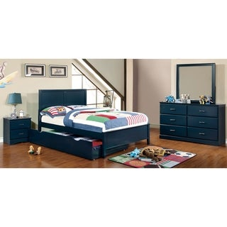 Furniture of America Colorpop Full Modern 5-Piece Youth Bedroom Set