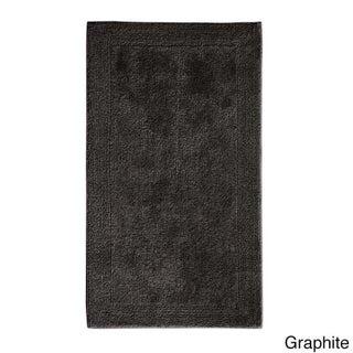 Grund America Certified Organic Cotton Reversible Bath Rug Puro Series (Option: 17 x 24 - Graphite)