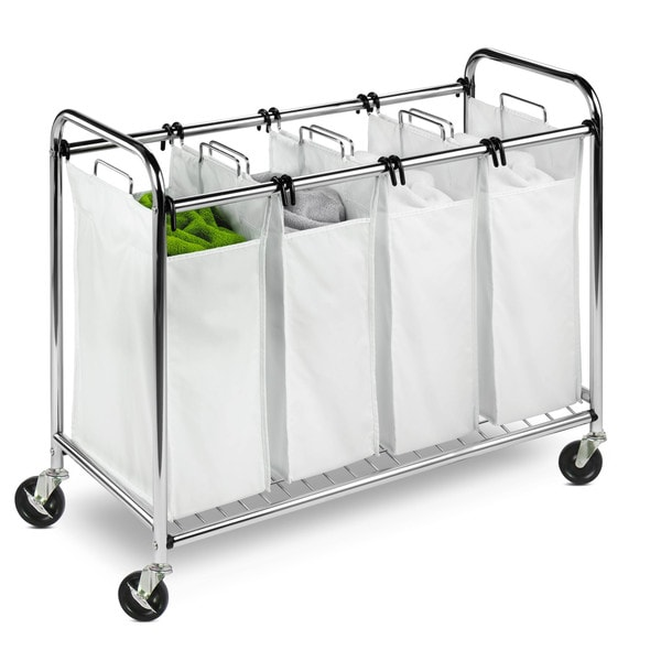 Honey-Can-Do Heavy-duty Chrome Quad Sorter