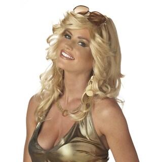 Discorama Mama Blonde Curly Wig