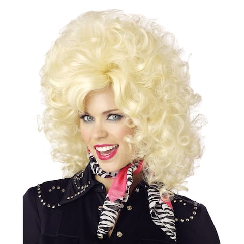 Country Western Diva Blonde Wig