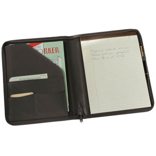 Link to Royce Leather Zip Around Writing Genuine Leather Padfolio Similar Items in Binders