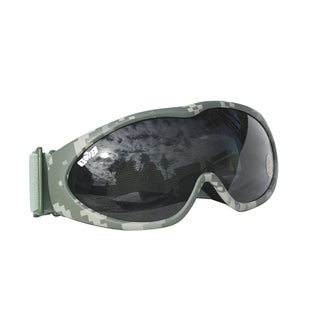 GXG Deluxe Airsoft Bubble Goggles Digital Camouflage Frames with Smoke Polycarbonate Lens