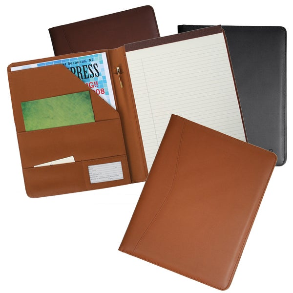 Royce Leather Genuine Leather Padfolio. Opens flyout.