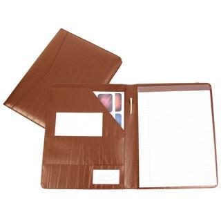 Royce Leather Genuine Leather Padfolio (Option: Tan)