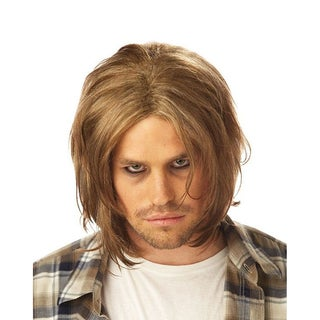 Adult Men's Blonde Grunge Wig