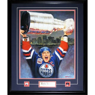 Mark Messier Lithograph Painting