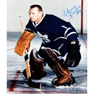 NHL Toronto Maple Leafs Johnny Bower Autographed 8x10 Photograph