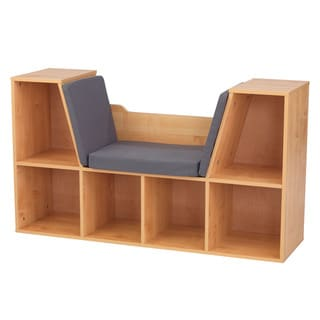 Link to KidKraft Natural Bookcase with Reading Nook Similar Items in Kids' & Toddler Furniture