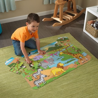 KidKraft Safari Floor Puzzle