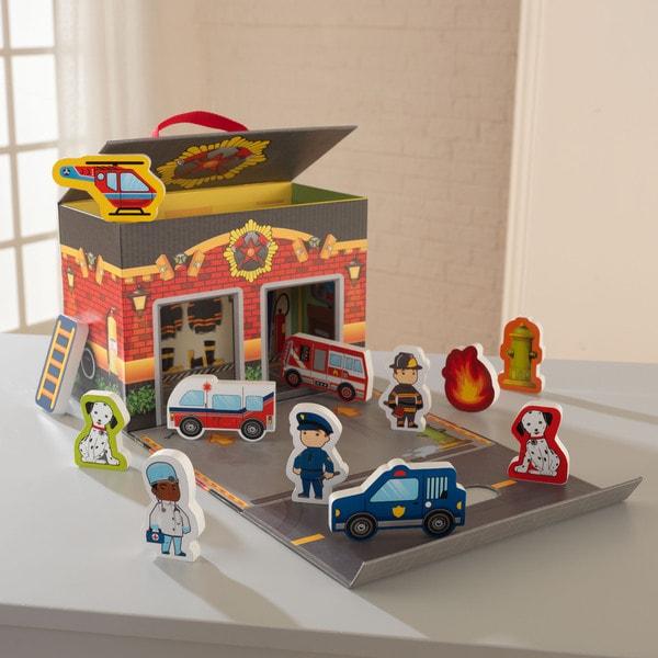 KidKraft Emergency Room Resuce Travel Box Play Set