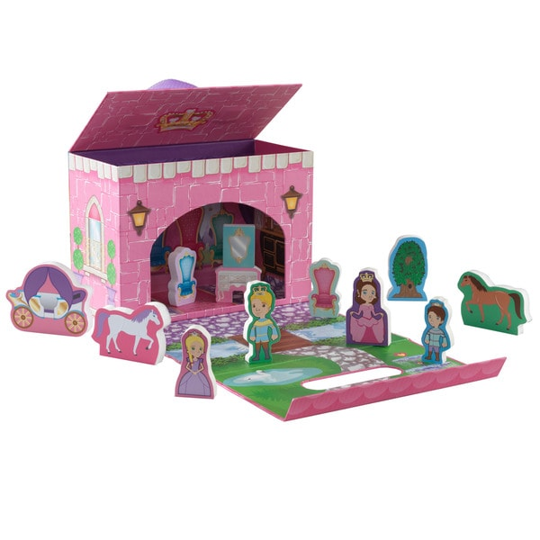 KidKraft Fairy Tale Princess Travel Box Play Set