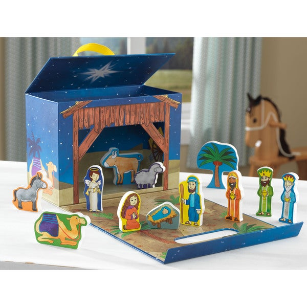 KidKraft Nativity Travel Box Play Set