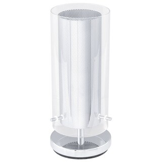 Eglo Tarolo - 1 x 60 W Table Lamp w/Chrome Finish & Clear Glass