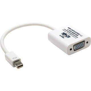 Tripp Lite Keyspan Mini DisplayPort to VGA Adapter Converter Active 6