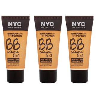 N.Y.C. New York Color BB Creme Foundation Bronze (Pack of 3)