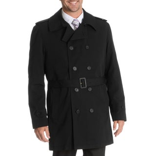 Blu Martini Men's Double Breasted Rain Coat (More options available)