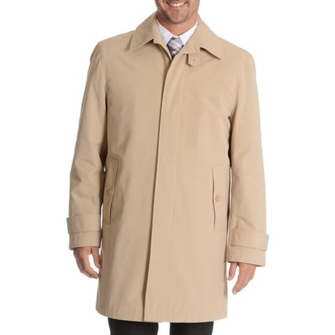 Blu Martini Men's Single Breasted Rain Coat