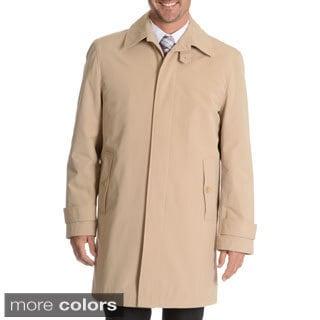 Blu Martini Men's Single Breasted Rain Coat