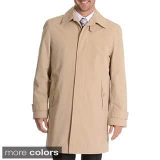 Blu Martini Men's Single Breasted Rain Coat|https://ak1.ostkcdn.com/images/products/10240389/P17360159.jpg?impolicy=medium