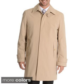 Blu Martini Men's Single Breasted Rain Coat (Option: 52r)