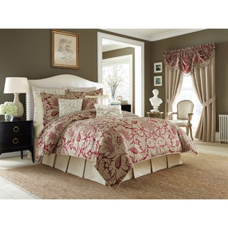 Croscill Avery Jacquard Woven Damask 4-piece Comforter Set
