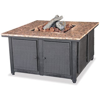 UniFlame Granite Propane Fire Pit