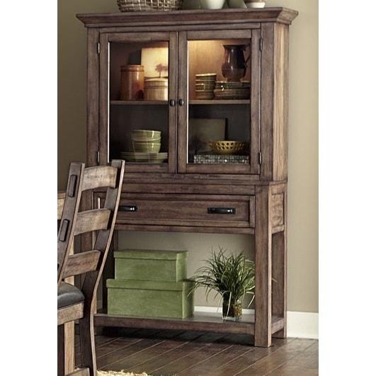Pine Brook Boulder Mountain Residence Living Room: Shop Boulder Creek Hutch/ Buffet