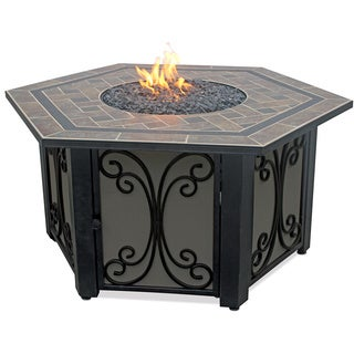 UniFlame Endless Summer Gas Outdoor Fireplace