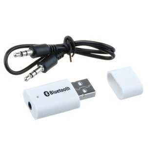 Bluetooth 3.5mm AUX Stereo Audio Receiver Adapter
