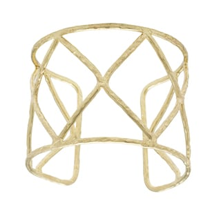 Goldtone Goldplated Cuff Bracelet (India)