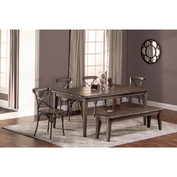 Shop Hillsdale Furniture's Lorient Rectangle Dining Set In