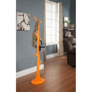 Maison Rouge Appleman Wood Coat Rack Finish (Option: CR4227O Wood Coat Rack Orange Finish)