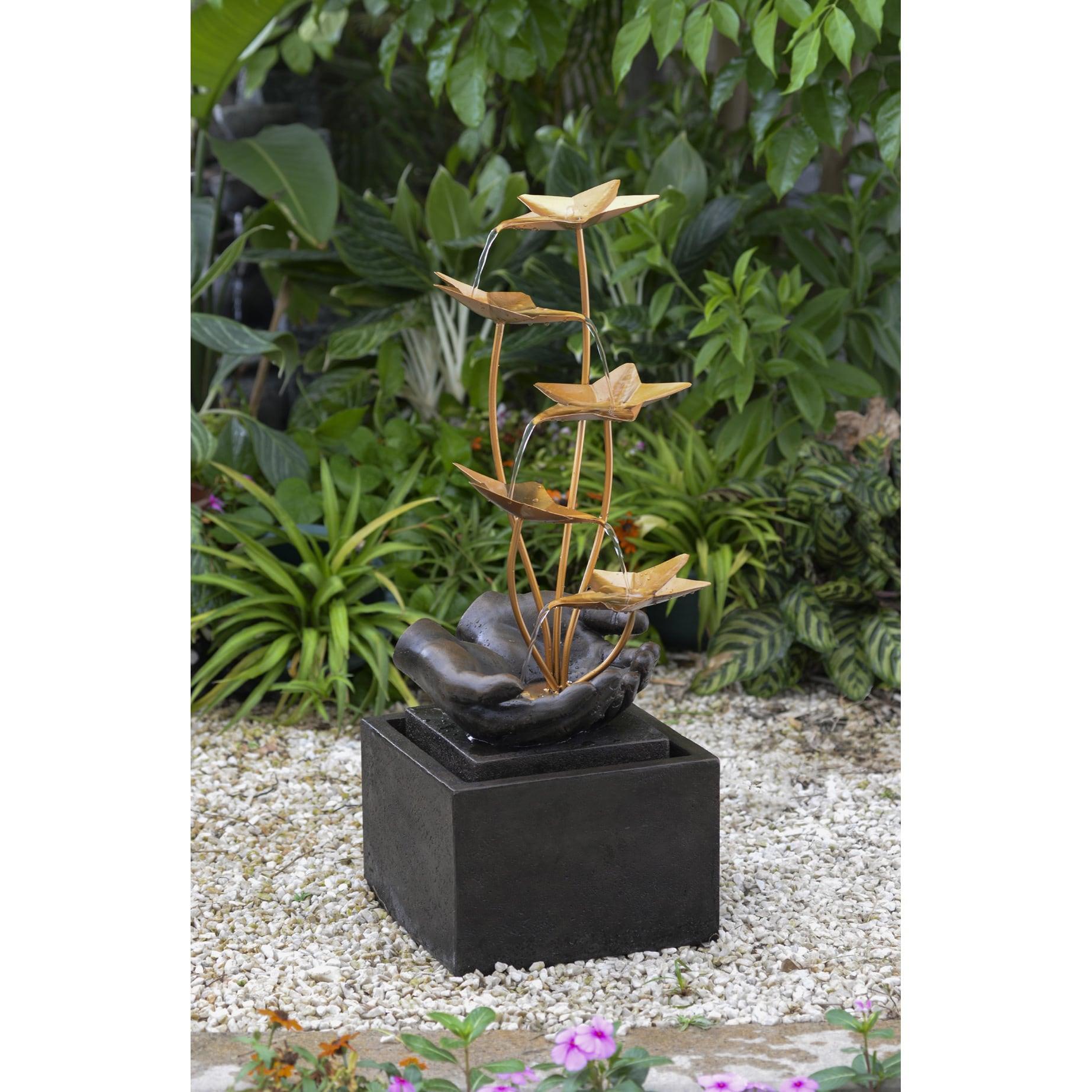 Buy Metal Outdoor Fountains Online At Overstock.com | Our Best Outdoor  Decor Deals