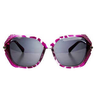 Crummy Bunny Little Girls' Purple Tortoise Shell Fashion Polarized Sunglasses
