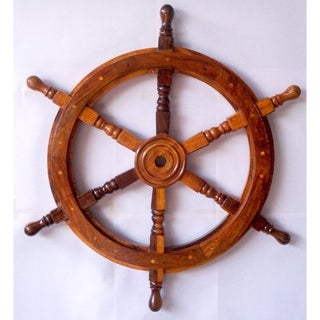 Ship Wheel By Nautical